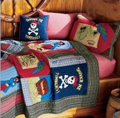 Pirate Themed Bedroom Decor Ideas