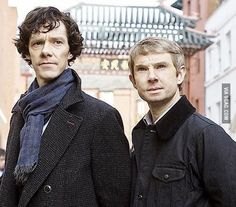 This creeps me out so much! I mean sherlock  looks older but okay... Just Look at John! WTF