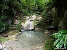 site de canyoning