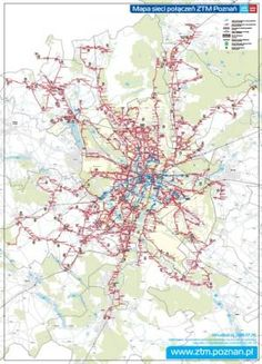Zarząd Transportu Miejskiego w Poznaniu - Mapy i schematy sieci Diagram
