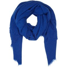 Destin Women's Fluffy Oversize Scarf (37.590 RUB) ❤ liked on Polyvore featuring accessories, scarves, colorless, fringe scarves, woven scarves, oversized scarves, royal blue shawl and destin