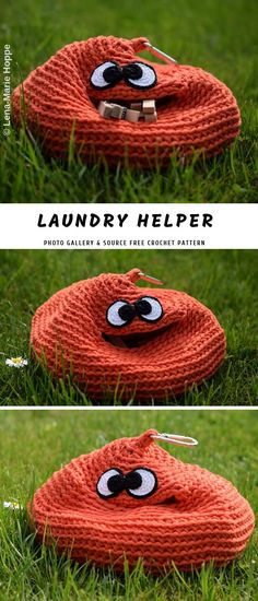 Crochet Containers or Baskets to Store Cute Crochet, Knit Crochet, Crochet Hats, Crochet Baskets, Crochet Pumpkin, Crochet Home Decor, Halloween Crochet, Crochet Accessories, Fall Crafts