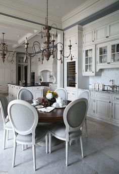 Grand Kitchen with Breakfast Room