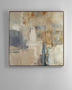 neutral distressed abstract paintings - Google Search