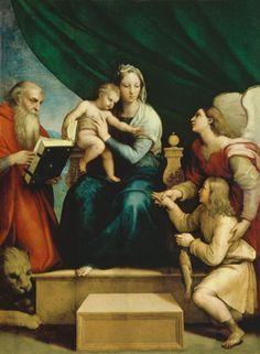 (Raphael) Raffaello Santi - Madonna with the fish