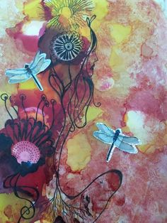 Cheryl Beverly is the artist. Search Cheryl Beverly Artist on Facebook to see more of Cheryl's work. Cheryl is a dear friend of mine, and her spirit is as beautiful as her artwork!!