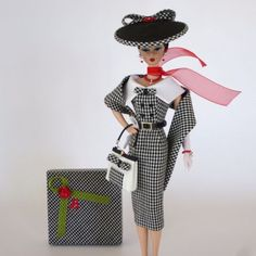 OOAK-Handmade-Vintage-Barbie-Silkstone-Fashion-by-Roxy-TESSA-14-pcs   $233.49 May 2, 2015