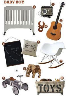 Finding Inspiration For Baby Boy's Nursery Room on Baby Lifestyles