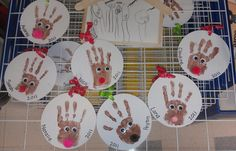 Ornaments the class made for Christmas!