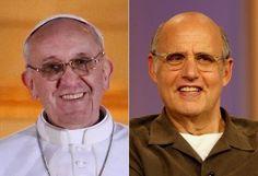 Pope Francis and Jeffrey Tambor: Celebrity Doppelgangers!