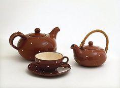 Kupittaan Savi Serveware, Tableware, Finland, Tea Time, Scandinavian, Tea Pots, Art Deco, Ceramics, Dining