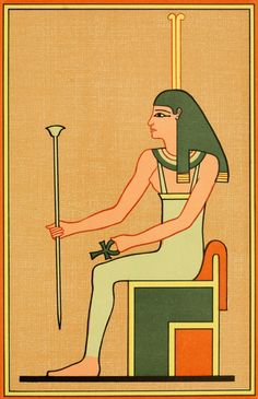 The Gods of the Egyptians The goddess Meskhenet Poster Print by Unknown x Portal, Old Egypt, Popular Culture, Constellations, Vivid Colors, Mythology, Disney Characters, Fictional Characters, Religion