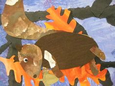 """Love this style Inspired by """"Nuts to You"""" by Lois Ehlert-grade 1 Animal Art Projects, Winter Art Projects, Preschool Art, Kindergarten Art, Animal Symbolism, Art Lessons Elementary, Autumn Art, Art Club, Lois Ehlert"""