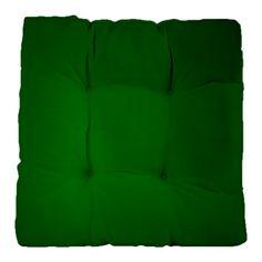 Hunter Green gradient Tufted Chair Cushion ... http://www.cafepress.com/dd/93314295?aid=11861778