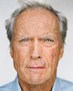 Clint Eastwood - Great celebreties Photos by New York based photographerMartin Schoeller.
