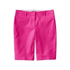 Lands' End Purple regular bermuda chino shorts | Debenhams
