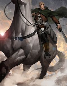 Shingeki no Kyojin | Attack on Titan |Erwin Smith