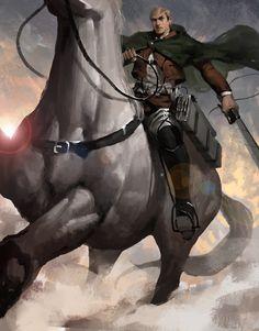 Shingeki no Kyojin | Attack on Titan |Erwin Smith