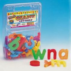 GIANT MAGNETIC LETTERS - LOWER CASE Preschool Toys, Toddler Preschool, Toddler Toys, Magnetic Letters, Lowercase A, Educational Toys, Magnets, Action Figures, Kids