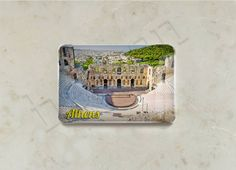 Traveller - Greece Collection - Fridge Magnets Athens Series; Epoxy Fridge Magnets Detail Page.