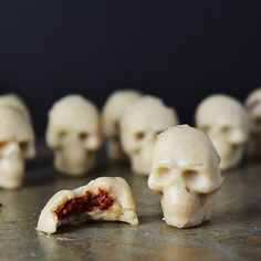 "I picked up this Wilton candy skulls mold from Hobbycraft a couple of weeks back and have been so eager to use it ever since. Is it weird that I find them cute? I'm not sure they're meant to be ""cute""… in fact, that is probably an insult to the person who designed the mould.... Read More »"
