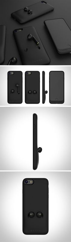 People's biggest gripe with AirPods is also with themselves! Misplacing or damaging them is WAY too easy and quite costly. This cleverly designed iPhone case design helps to prevent each of those problems. It's called the Mophie iPhone + AirPod Battery Case and it features a special holder for your AirPods that keeps them together, handy, and protected while not in use.