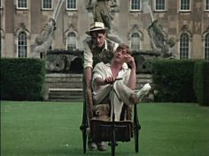 Jeremy Irons and Anthony Andrews in Brideshead Revisited. Granada TV, 1981