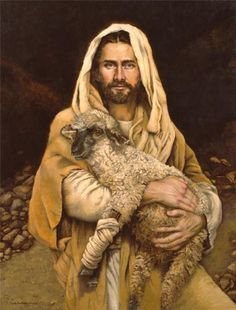 Bind Up the Brokenhearted, a painting by artist Sandy Freckleton Gagon God and Jesus Christ Paintings Of Christ, Jesus Painting, Lord Is My Shepherd, The Good Shepherd, Lds Art, Bible Art, Première Communion, Pictures Of Jesus Christ, Jesus Christus