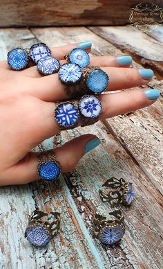 Items similar to Blue Boho Ring , Blue Hippie Bohemian Ring , Mediterranean Boho Ring, Blue Ceramic Bronze Ring, Ibiza Ring by VintageRoseGallery on Etsy Bohemian Rings, Hippie Bohemian, Etsy Jewelry, Boho Jewelry, Enchanted Jewelry, Traditional Earrings, Bronze Ring, Blue Gemstones, Blue Rings