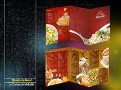 Diseño de Menú La Cocina de Mabelle