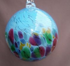Shoply.com -Hand Blown Glass Christmas Ornament/Suncatcher/ Ball. Only $23.00