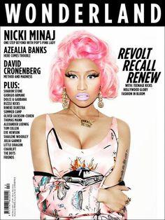 Nicki Minaj stars new cover from Wonderland magazine