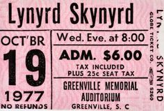 39 years ago today Skynyrd played their last concert. RIP Ronnie, Steve, Cassie and Dean! Street Survivors, Gary Rossington, Lynard Skynard, Allen Collins, Ronnie Van Zant, Famous Musicians, Artist Quotes, Live Rock, Old Music
