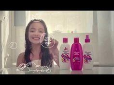JOHNSON'S® estreia campanha da linha Gotas de Brilho. Assinada pela DM9DDB, a campanha destaca o mundo lúdico da criança no banho. Sua princesa com cabelos d...
