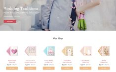 Brides - Wedding Magazine Multipurpose HTML Website Template #Website #Magazine #Wedding #Brides