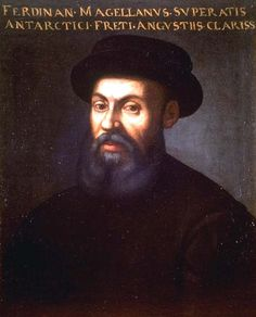 """Ferdinand Magellan- c. 1480 – 27 April 1521) was a Portuguese explorer who organised the Spanish expedition to the East Indies that resulted in the first circumnavigation of the Earth, completed by Juan Sebastián Elcano.  He was born in Sabrosa in northern Portugal, and served King Charles I of Spain in search of a westward route to the """"Spice Islands"""" (modern Maluku Islands in Indonesia)."""