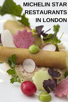 Find all the London restaurants awarded with a shining Michelin star.