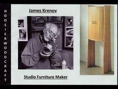 James Krenov, Studio Furniture Maker - YouTube