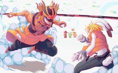 Summer Wars : Love machine vs. King Kazma