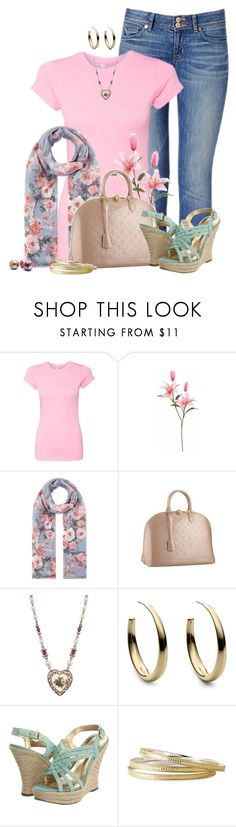 """Spring"" by lilarose111 ❤ liked on Polyvore featuring Rick Owens Lilies, Accessorize, Louis Vuitton, 1928, Michael Kors, GUESS and Anna Beck"