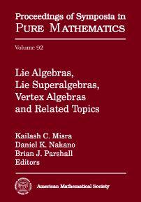 Lie algebras, lie superalgebras, vertex algebras, and related topics. Kailash C. Misra, Daniel K. Nakano, Brian J. Parshall, editors. 2016. Máis información: http://bookstore.ams.org/pspum-92