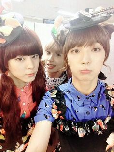 Up10tion Wooshin Sunyoul and Xiao