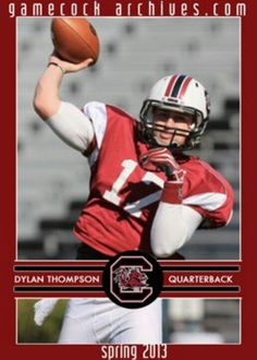 Dylan Thompson a.k.a one of the football loves of my life