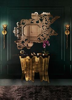 @KOKET Love Happens Love Happens Projects with Addicta Mirror, Obssedia Console and Flora Sconce http://www.bykoket.com/projects.php