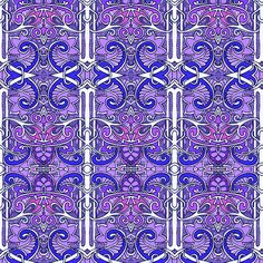 Up the Purple Column by edsel2084, click to purchase fabric