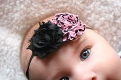 15 OFF Baby Headbands Flower Headband Photo Prop by cutenessbuns, $7.50