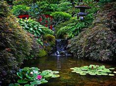 Сады Бутчаров в Канаде (36 фото)