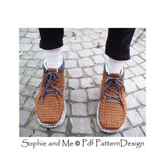 Lace Up Ankle Boots. Crochet pattern available! Crochet Soles attached, optional.