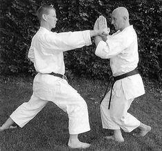 Resultado de imagen de 側面合せ受け karate Karate