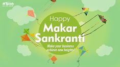 We wish everyone a very Happy Makar Sankranti. Enjoy the festival of kites and make plans to help your business achieve new heights. Makar Sankranti Greetings, Happy Makar Sankranti, Geography Map, Alphabet Design, Poster Ads, Indore, Festival Posters, How To Plan, Kites